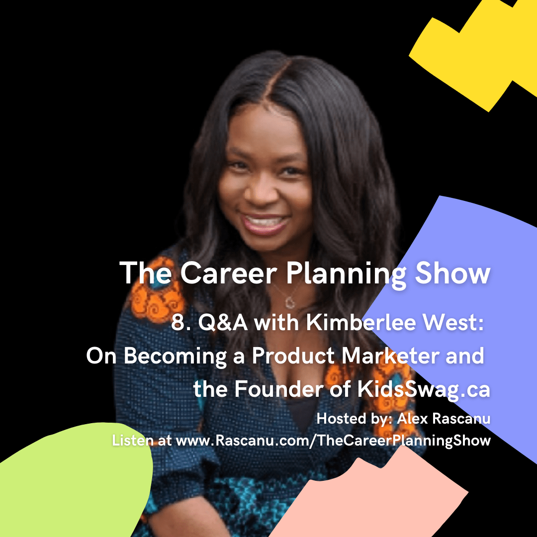 Kimberlee West interview for The Career Planning Show