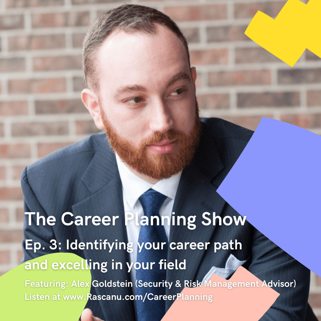 Alex Goldstein on The Career Planning Show