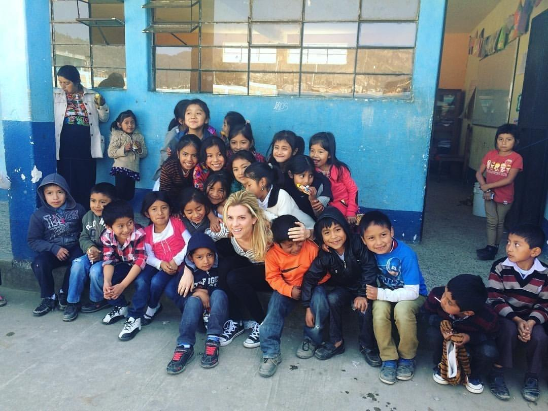 Rebecca Laramée, You're the Key fundraising campaign organizer in Guatemala