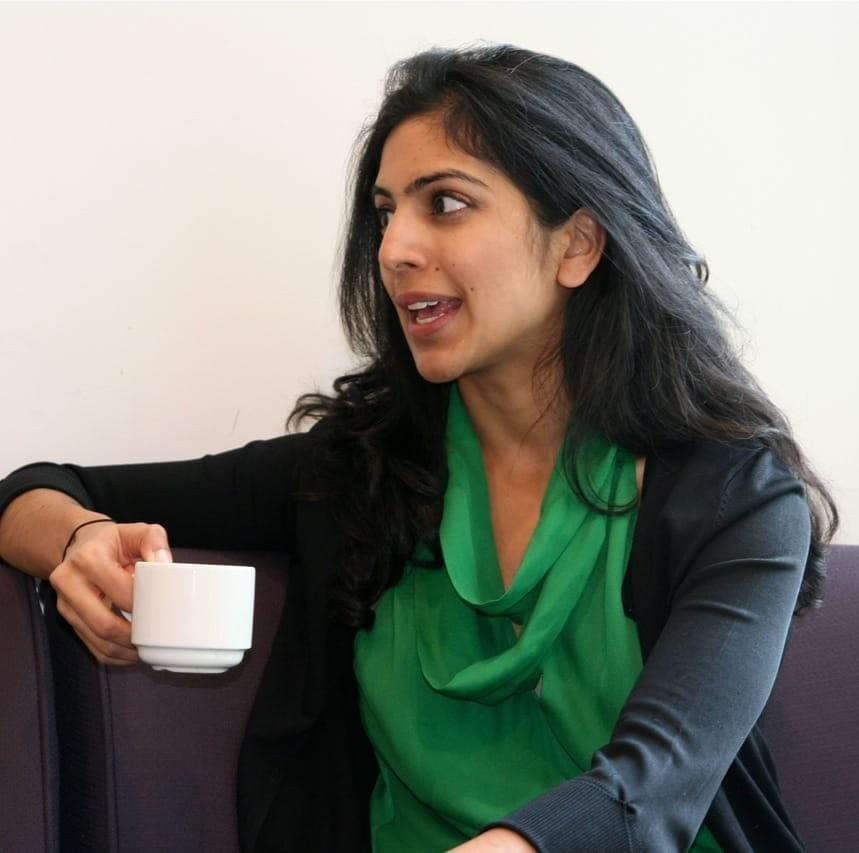 Sharon Chakkalackal in conversation