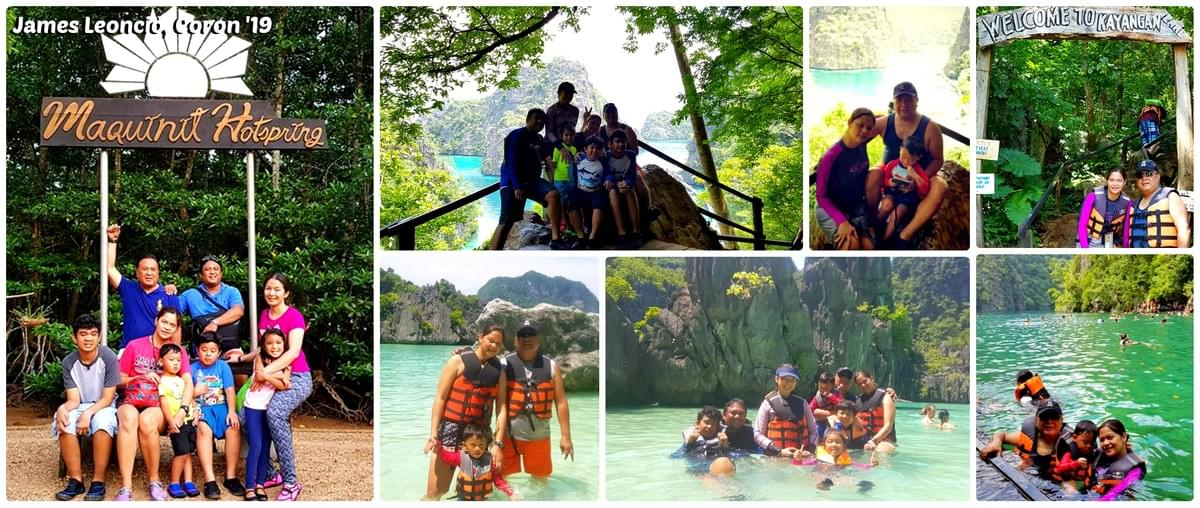 Mr. James Leoncio & Family - Coron '19