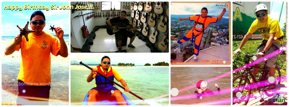 Mr. John Jose - Cebu-Bohol Adventure