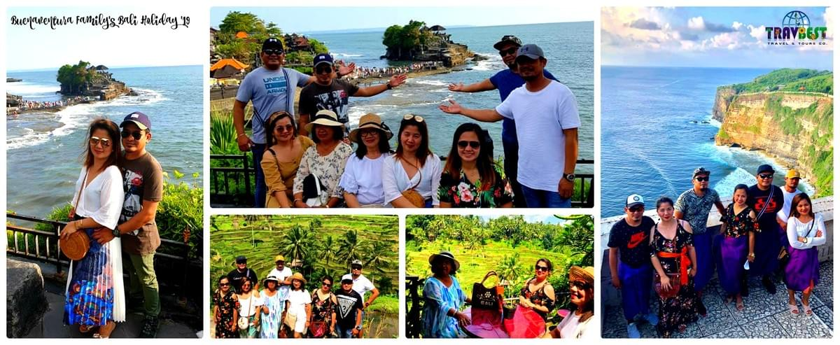 Ms. Marry Joyce Buenaventura & Family - Bali Holiday '19