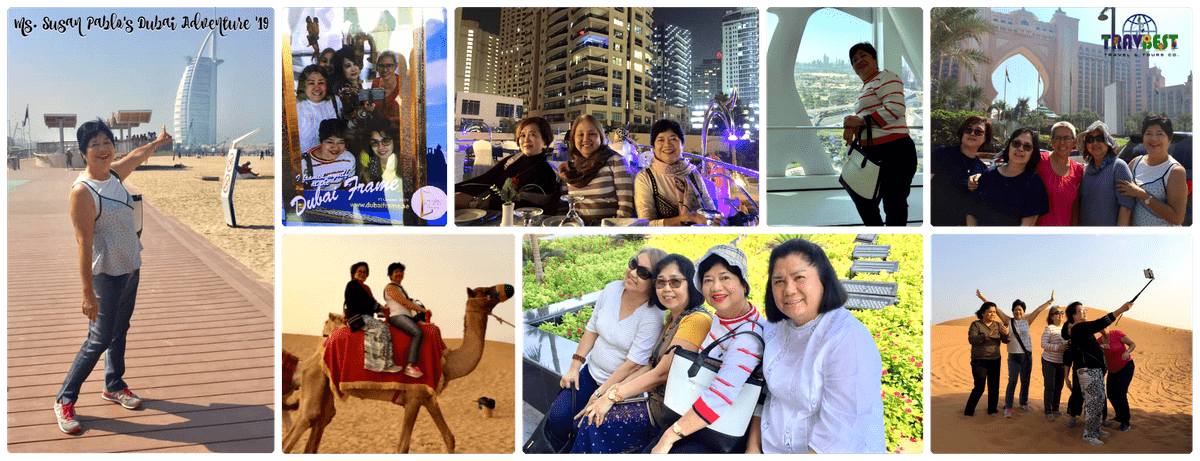 Ms. Susan Pablo's - Dubai Adventure '19