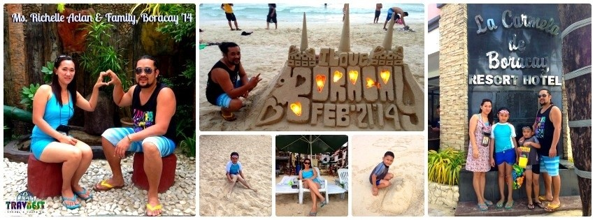 Aclan Family - Boracay Family Tour '14