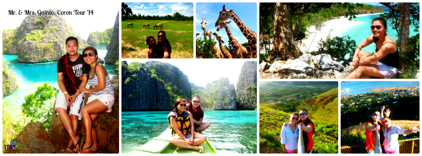 Mr. & Mrs. Guinto - Coron, Palawan Tour '14