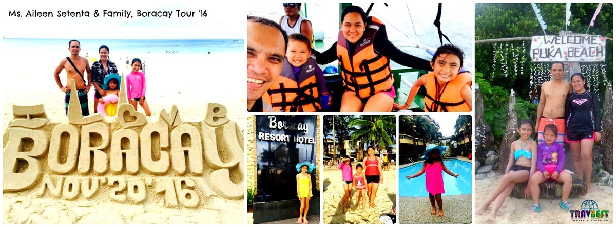 Ms. Aileen Setenta - Boracay Family Vacation '16