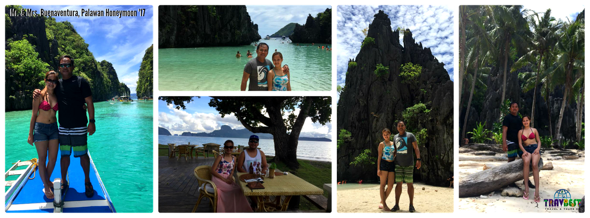 Mr. & Mrs. Buenaventura - Palawan Honeymoon '17