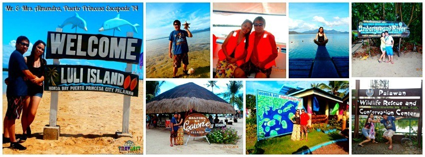 Mr. and Mrs. Almendra - Puerto Princesa, Palawan Escapade '14