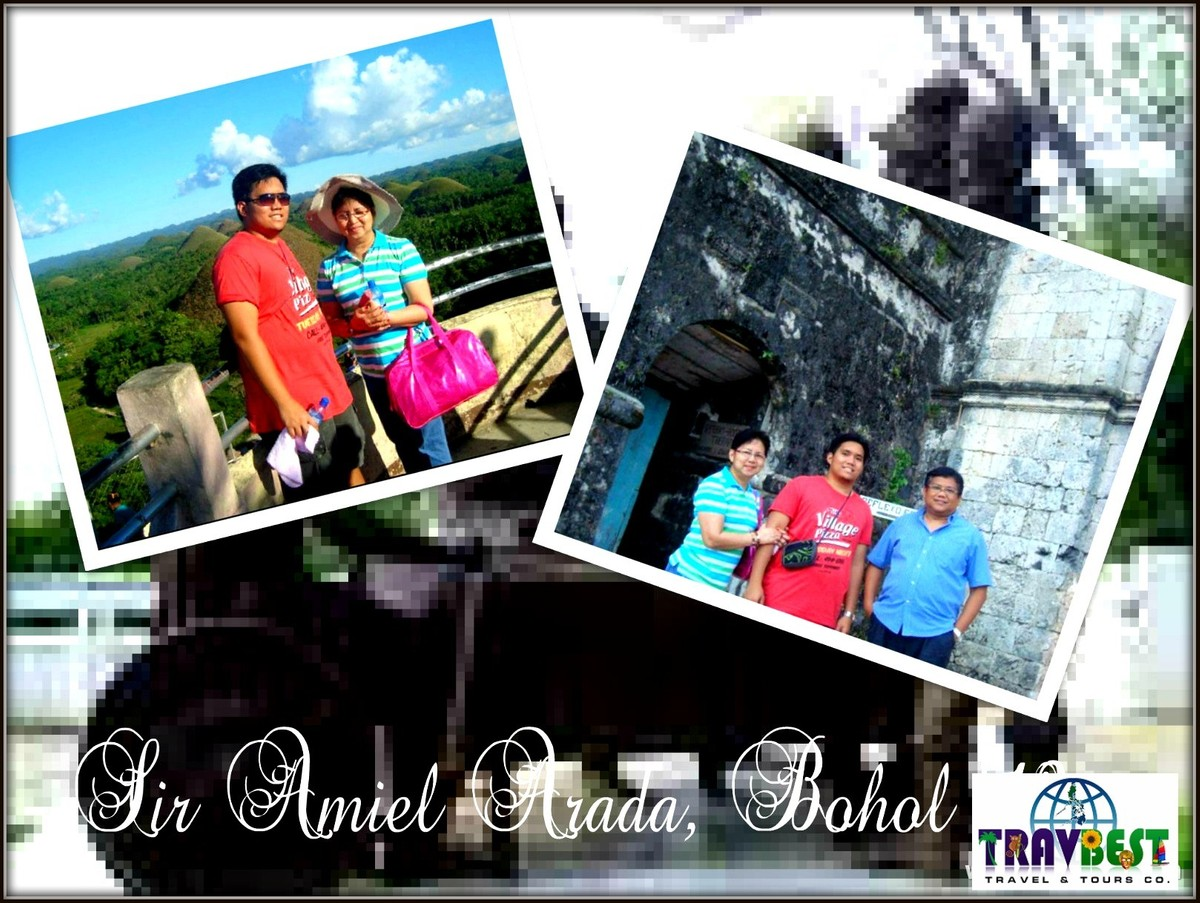 Mr. Amiel Arada - Bohol Tour '12