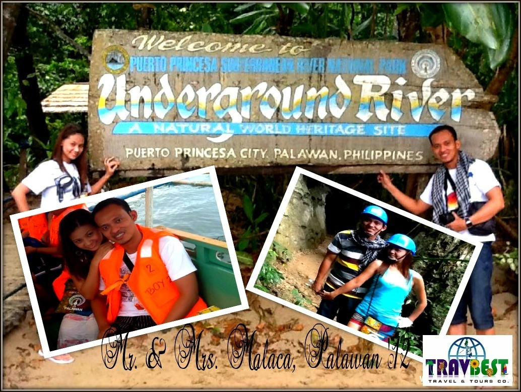 Mr. & Mrs. Malaca - Puerto Princesa, Palawan Tour for Two '12