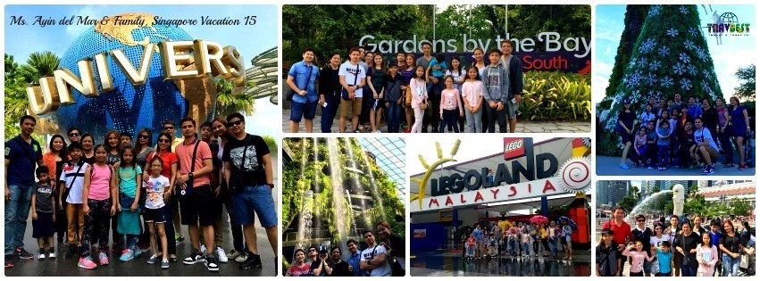 Ms. Ayin & Family - Singapore Family Vacation '15