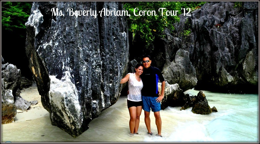 Ms. Beverly Abriam - Coron, Palawan Tour for Two '12