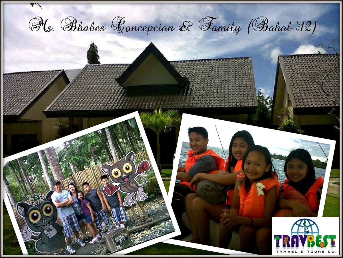 Comcepcion Family - Bohol Family Tour '12