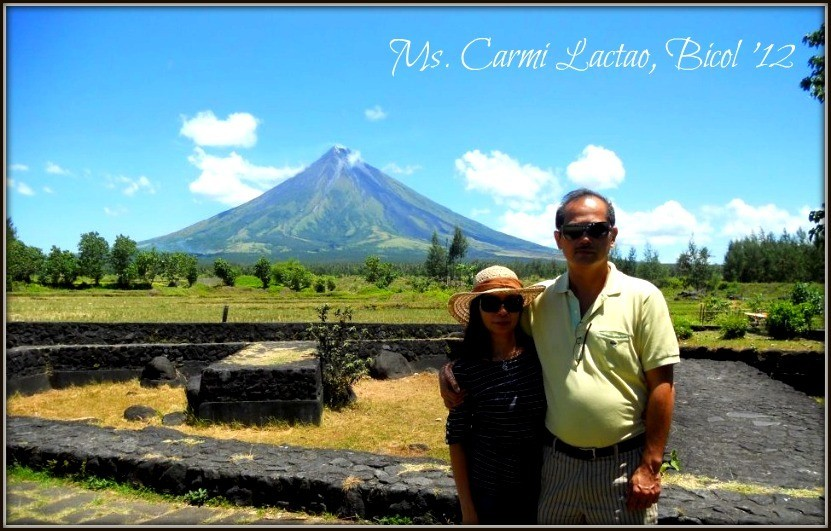 Mr. & Mrs. Lactao - Bicol Escapade '12