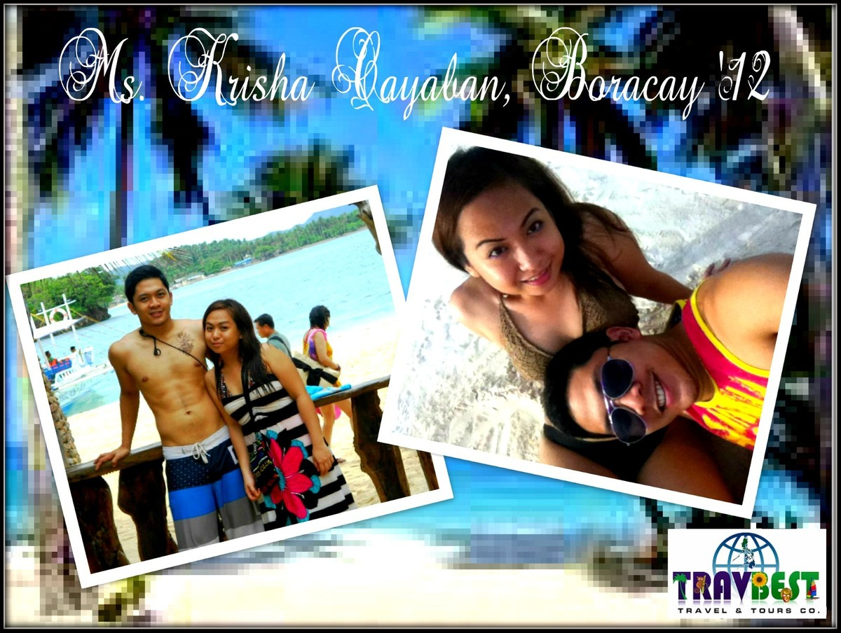 Ms. Krisha Cayaban - Boracay Vacation for Two '12