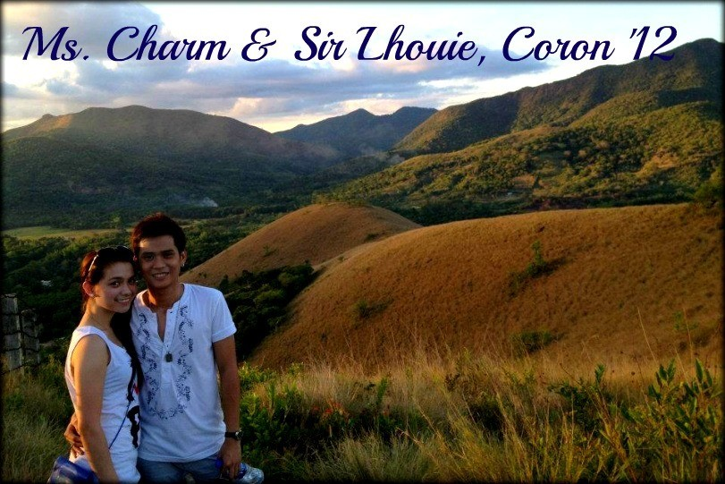 Ms. Charm & Mr. Lhouie - Coron, Palawan Tour for Two '12