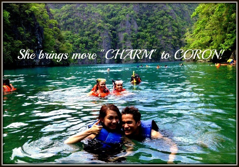 Ms. Charm Mullasgo - Coron, Palawan Tour for Two '12