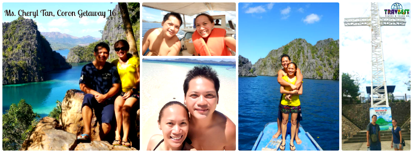 Ms. Cheryl Tan - Coron, Palawan Tour for Two '16