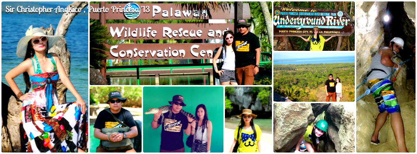 Mr. Christopher Angkico - Puerto Princesa, Palawan Tour for Two '13