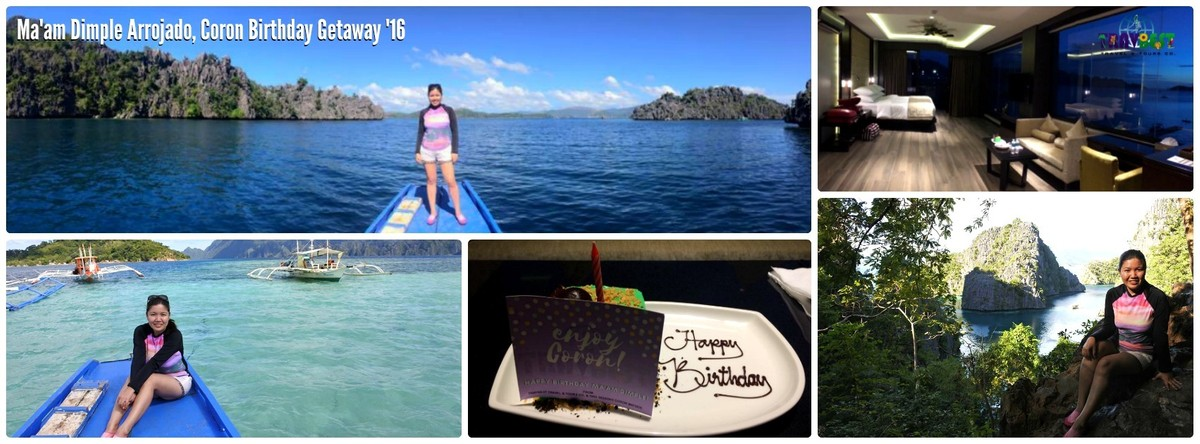 Ms. Dimple Arrojado - Coron, Palawan Birthday Getaway '17
