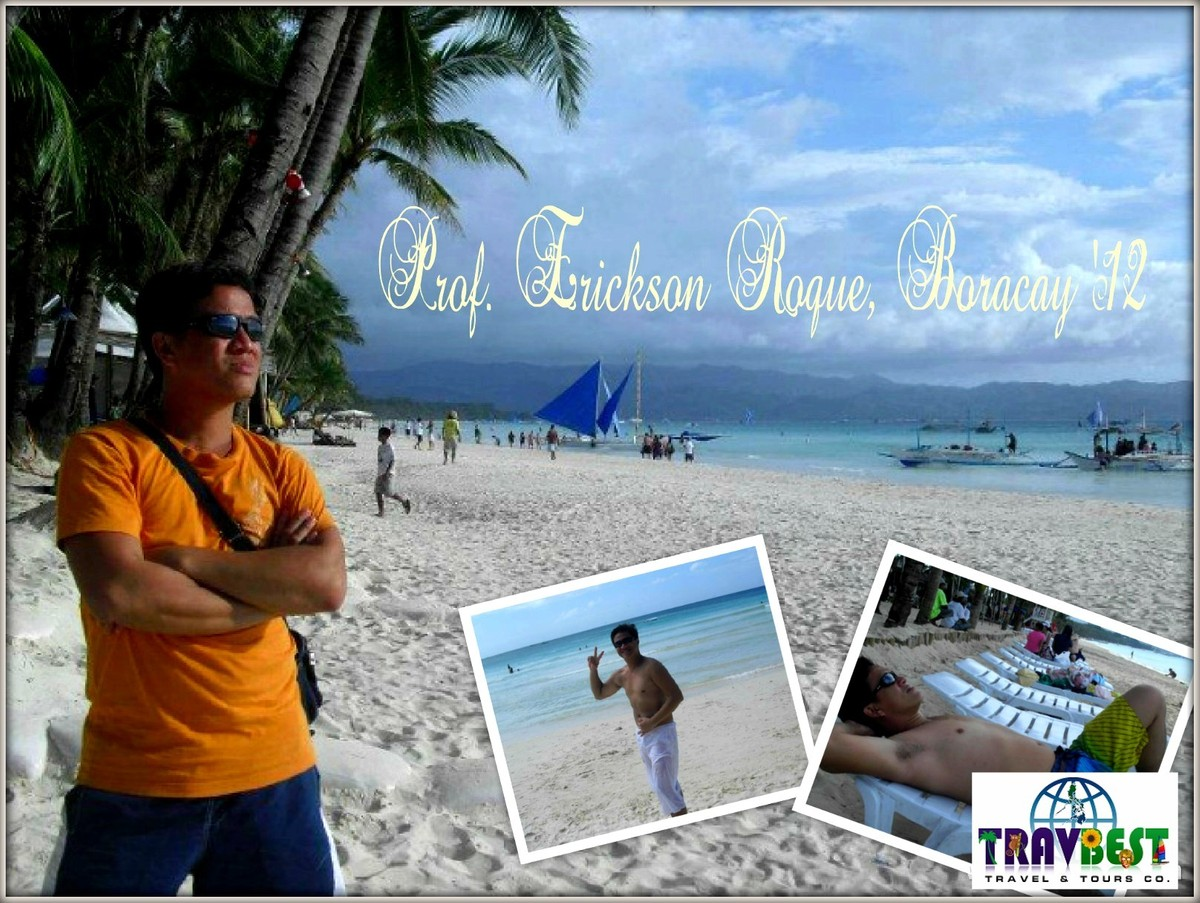Prof. Erickson Roque - Boracay Vacation '12