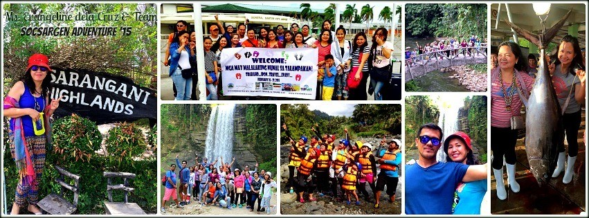 Ms. Evangeline Dela Cruz - Sorsargen Team Vacation '15