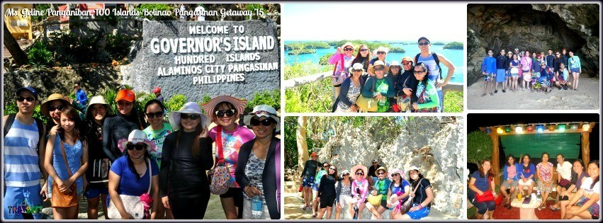 Ms. Geline Panganiban - Hundred Island & Bolinao Tour '15