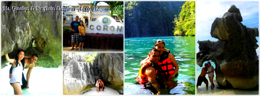 Ms. Ginalyn and Mr. Alvin - Coron, Palawan Tour for Two '12