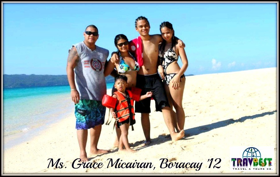 Ms. Grace Micairan - Boracay Family Vacation '12