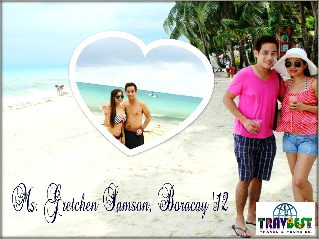 Ms. Gretchen Samson - Boracay Vacation for Two '12