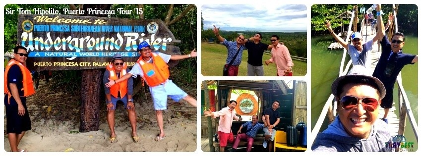 Mr. Tom Hipolito - Puerto Princesa, Palawan Tour '15