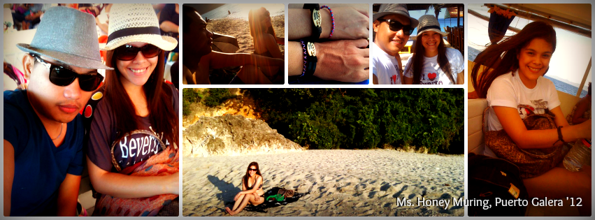Ms. Honey Muring - Puerto Galera, Mindoro Tour for Two '12