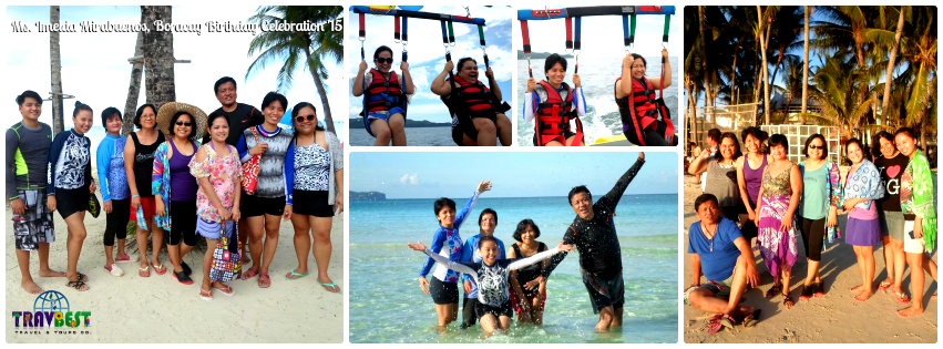 Ms. Imelda Mirabuenos - Boracay Birthday Vacation '15