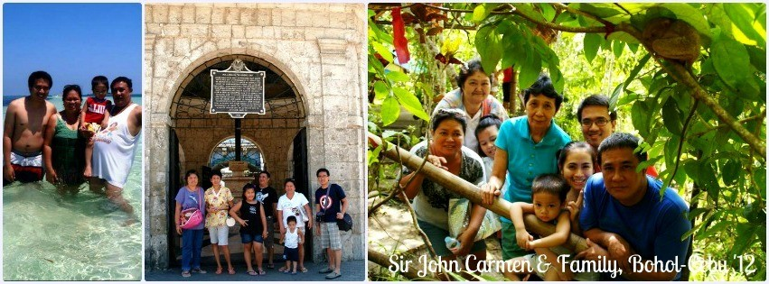 Mr. John Carmen - Bohol & Cebu Family Getaway '12