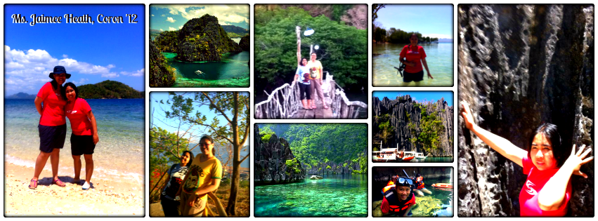 Ms. Jaime Heath - Coron, Palawan Tour for Two '12