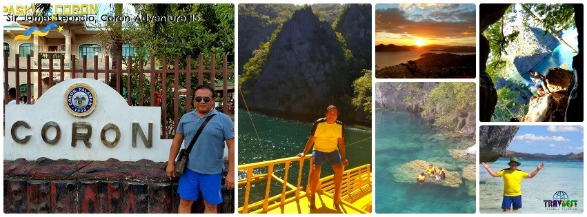 Mr. James Leoncio - Coron, Palawan Solo Travel '15