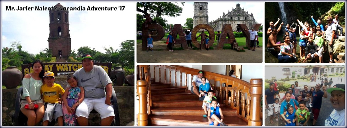Mr. Jarier Nalcot & Family - Ilocandia Adventure '17