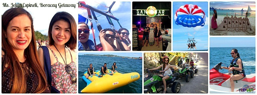 Ms. Jelyn Espineli - Boracay Vacation '15