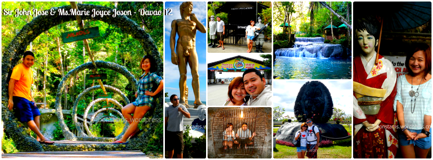 Mr. John & Ms. Joyce - Davao Tour Package for Two '12