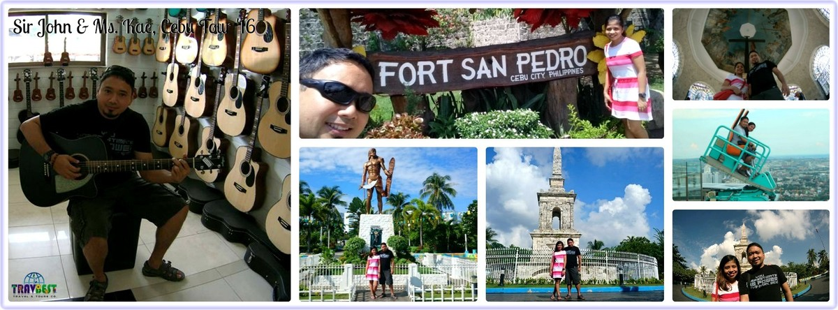 Mr. John & Ms. Kae - Cebu Tour for Two '16
