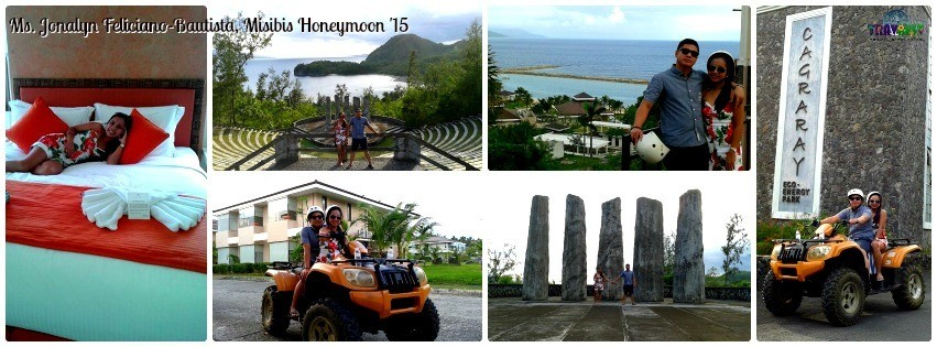 Ms. Jonalyn Feliciano - Misibis Bay Honeymoon Tour '15
