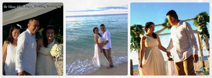 Mr. & Mrs. Baking - Boracay Wedding Tour Package '13