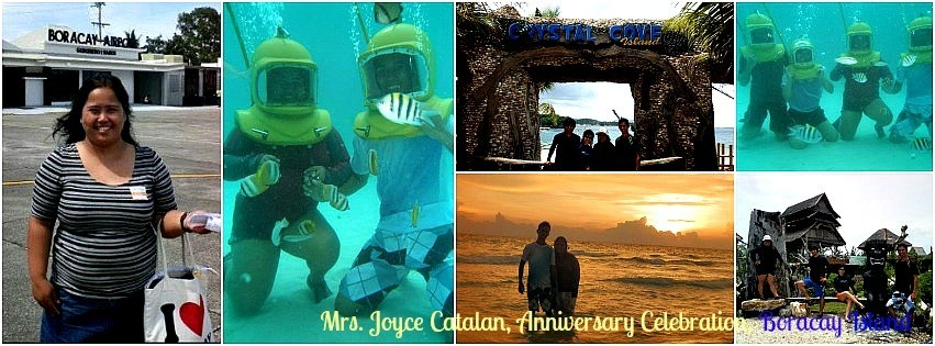 Ms. Joyce Catalan - Boracay Vacation Package '12