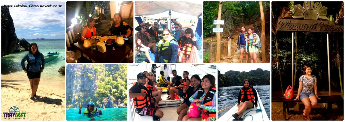 Ms. Joyce Catalan - Coron Adventure '18