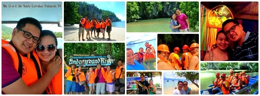 Mr. & Mrs. Corrales - Puerto Princesa, Palawan Group Tour