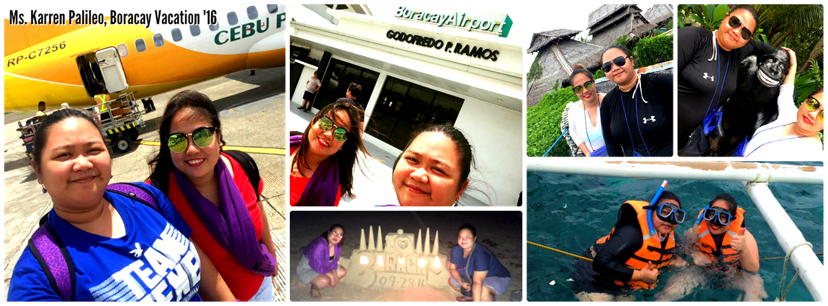 Ms. Karren Palileo - Borcay Vacation '16