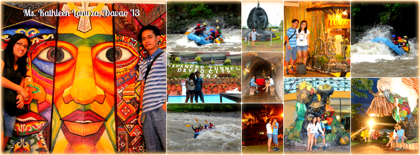 Ms. Kathleen Lanuza - Davao Tour Package for Two '13