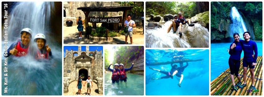 Ms. Kun & Mr. Ken - Oslob, Badian & Cebu Tour for Two '16