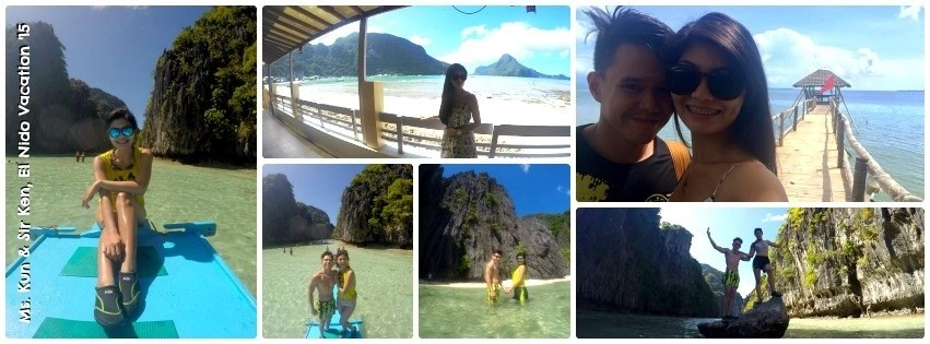 Ms. Kun & Mr. Ken - El Nido, Palawan Tour for Two '15